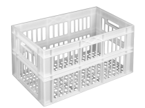 Plastic crates ST6336-3