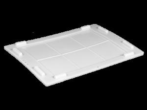Пластикова кришка L64-ST01 зовнішня для ящиків 600х400