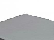 Палета стелажна гігієнічна HP1210/V2 на полоззях