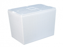 Thermo insert for plastic crate N6442