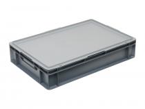 Пластикова кришка E6401 для ящиків 600х400(E)