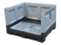 Container foldable 1210Е 1200х1000х810 with runners
